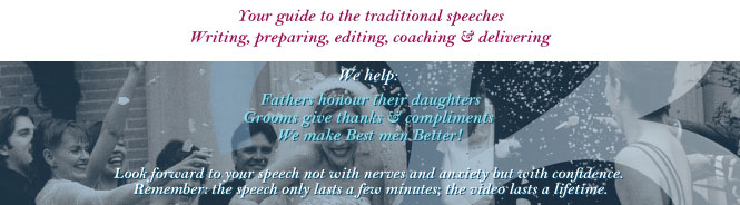 Your guide to writing, preparing, editing, coaching and delivering traditional speeches